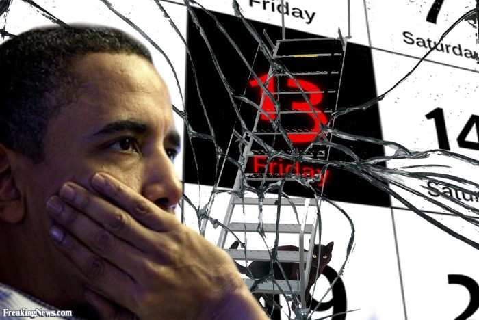 Obamas Friday-the-13th