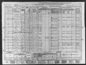 Ted Cruz - census showing his moms birthdate