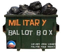 Military ballots
