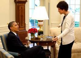 Valerie Jarrett telling Obama
