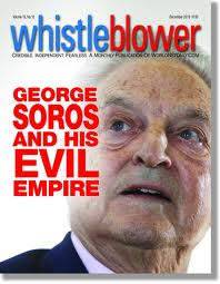 George Soros + Whistleblower mag