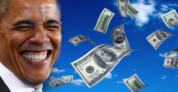 Obama fundraising money