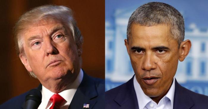 Image result for obama vs donald trump