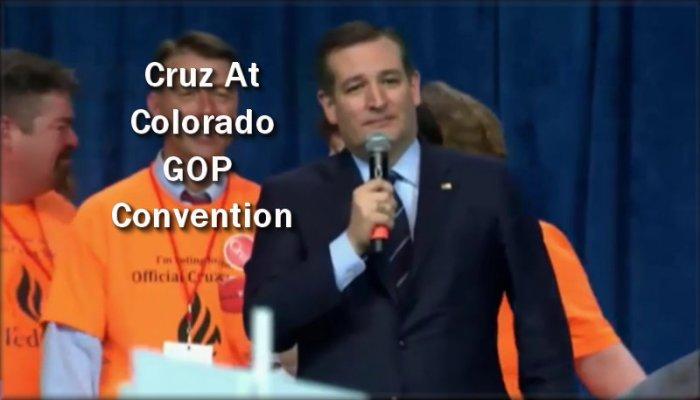 Cruz in Colorado