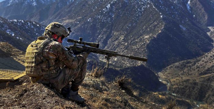 inmilitary - sniper in Afghanistan