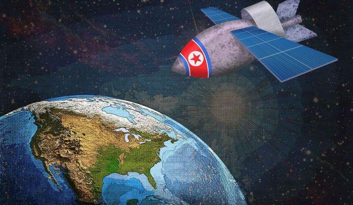 N Korea satellite EMP
