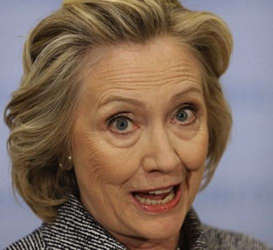 Hillary with hazel eyes