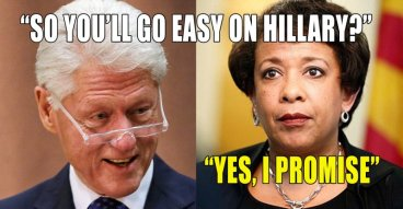 Loretta Lynch + BillClinton