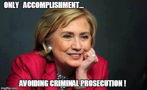 Hillarys only accomplishment