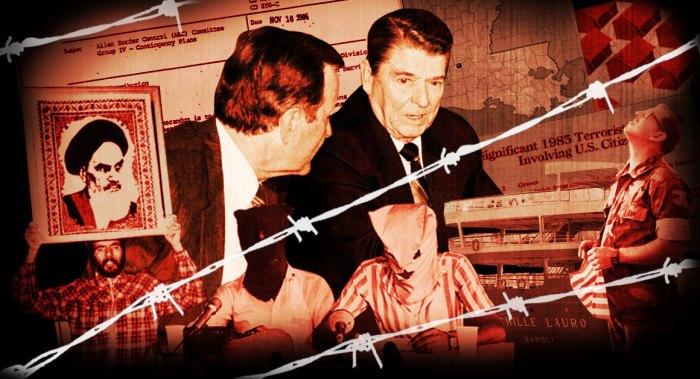 Reagan plan to round up Muslims