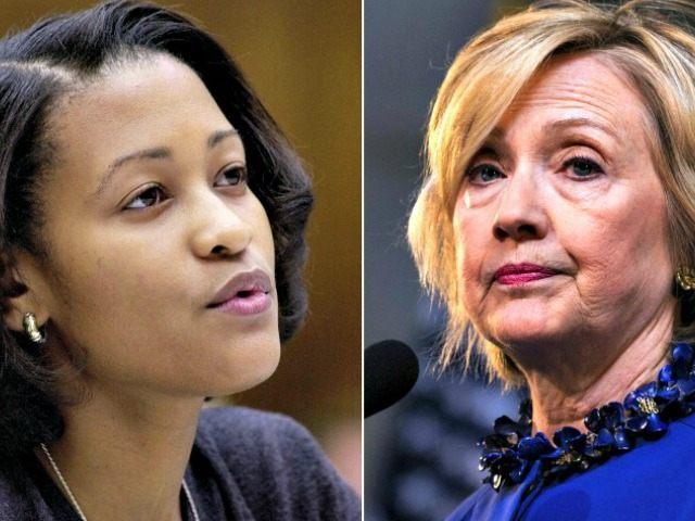 Cheryl-Mills + Hillary-Clinton