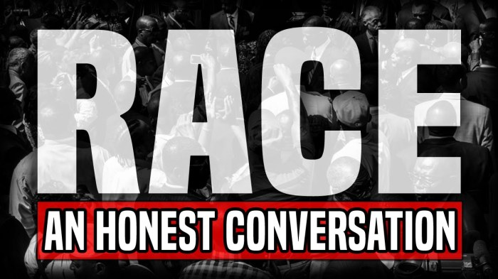 Race - an honest conversation