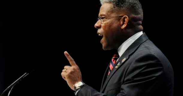 U.S. Representative Allen West (R-FL) addresses the Conservative Political Action Conference (CPAC) in Washington, February 12, 2011. REUTERS/Jonathan Ernst (UNITED STATES - Tags: POLITICS)